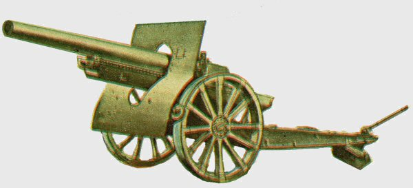 Drawing of 120 mm wz.1878/09/31 gun [Janusz Magnuski]
