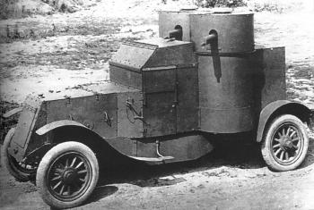 Austin armoured car the 2nd series