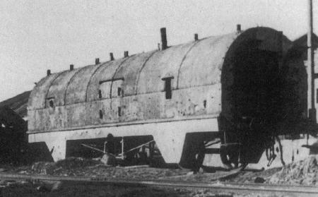 Assault wagon of Nr.55 armoured train