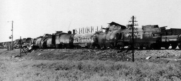 Polish armoured train Nr.12 - general view