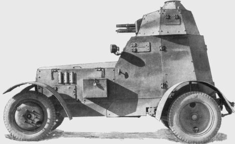 Wz.34 armoured car with 37mm gun (older gun mount). [4])