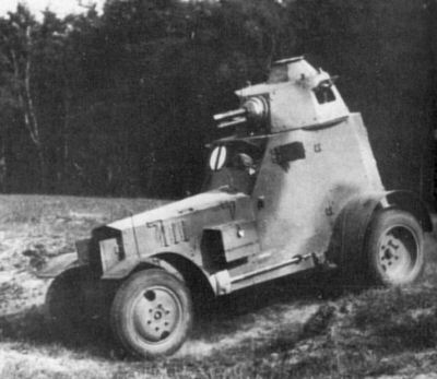 Wz.34 car with 37mm gun