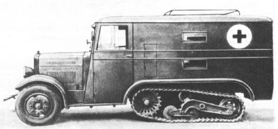 Wz.34 all-terrain ambulance [sources 1,3]
